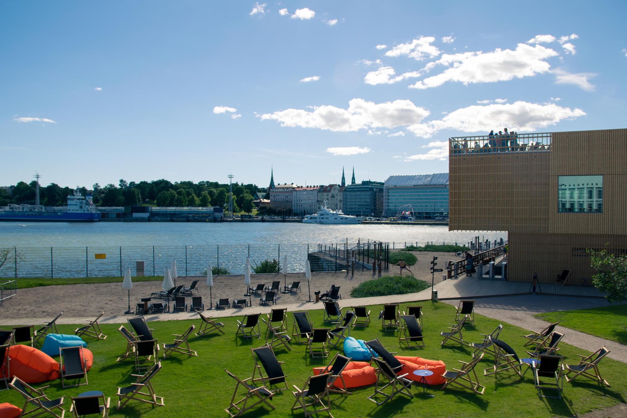 Elämyksiä Helsingissä: Allas Sea Pool