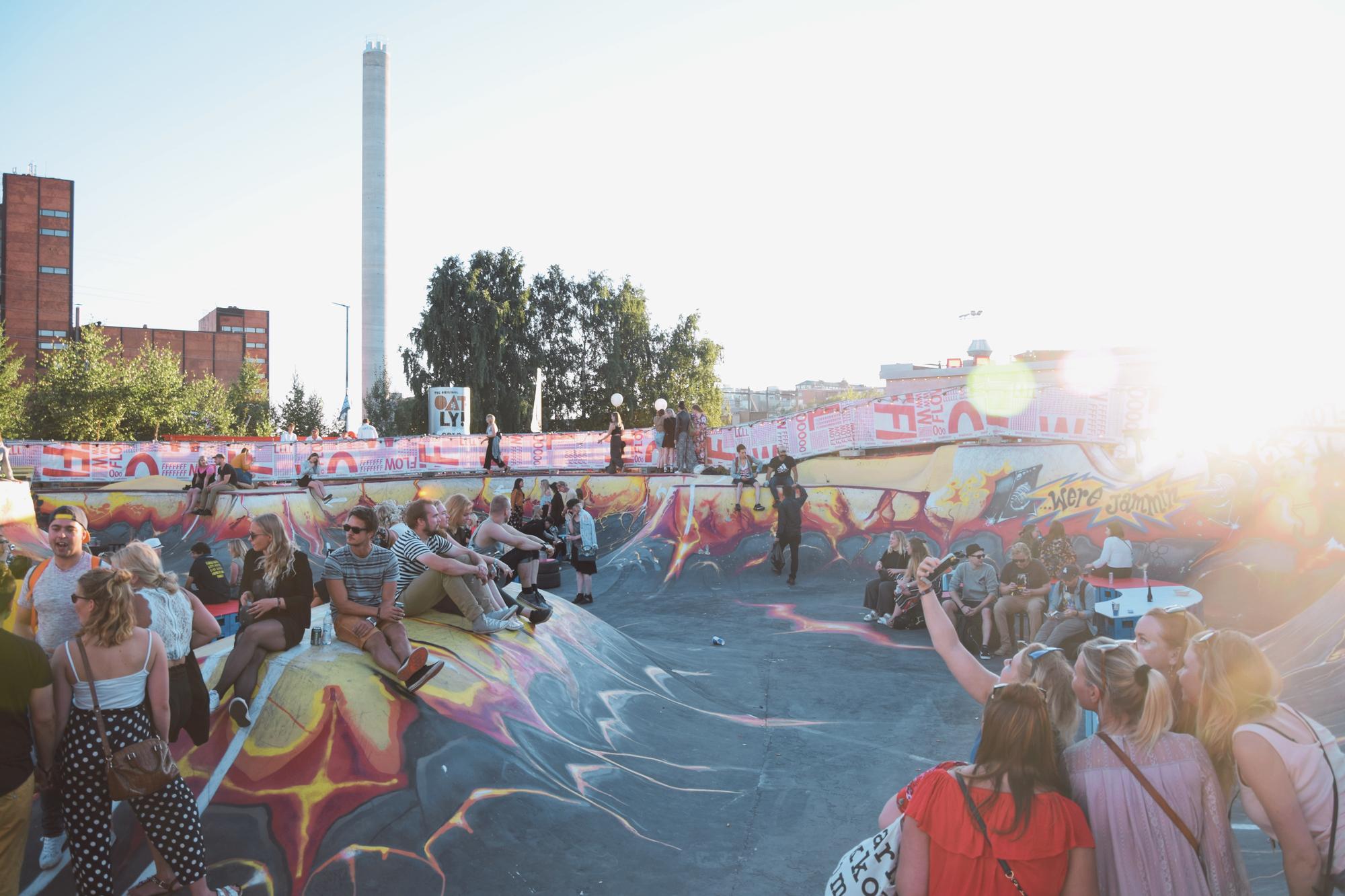 Elämyksiä Helsingissä: kuuma festarikesä!