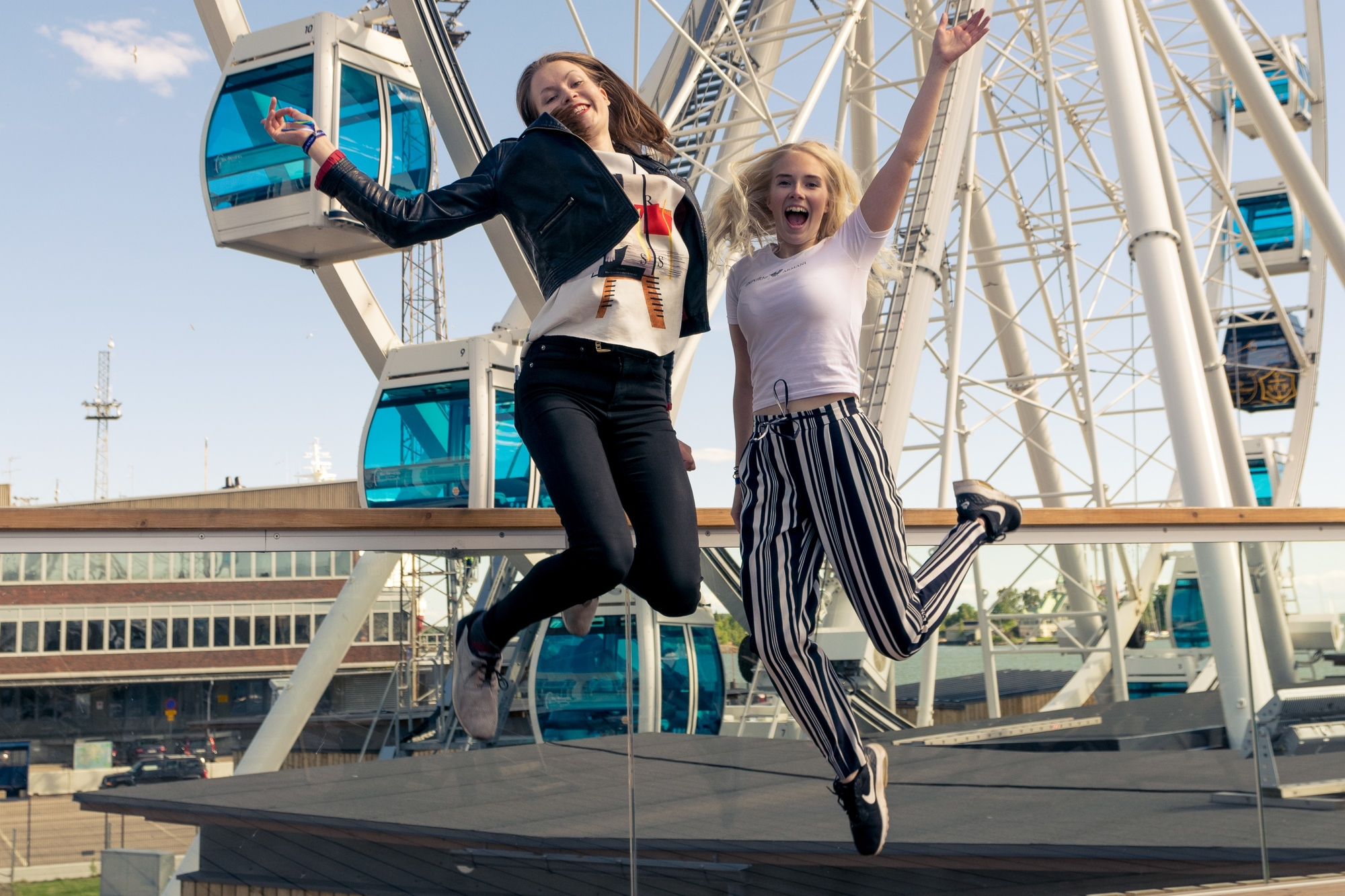 Kaupunkiloma Helsingissä: Helsinki Skywheel
