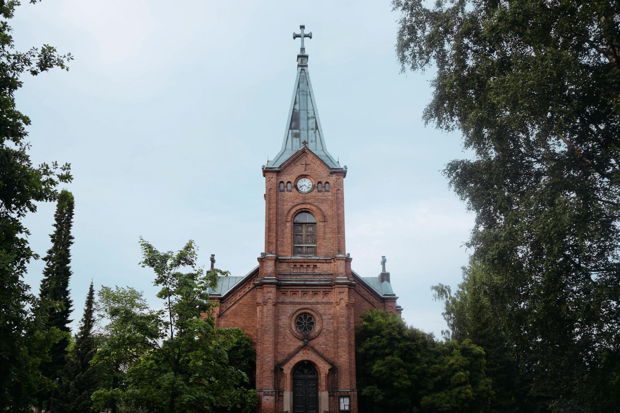 Jyväskylän nähtävyydet: kaupunginkirkko