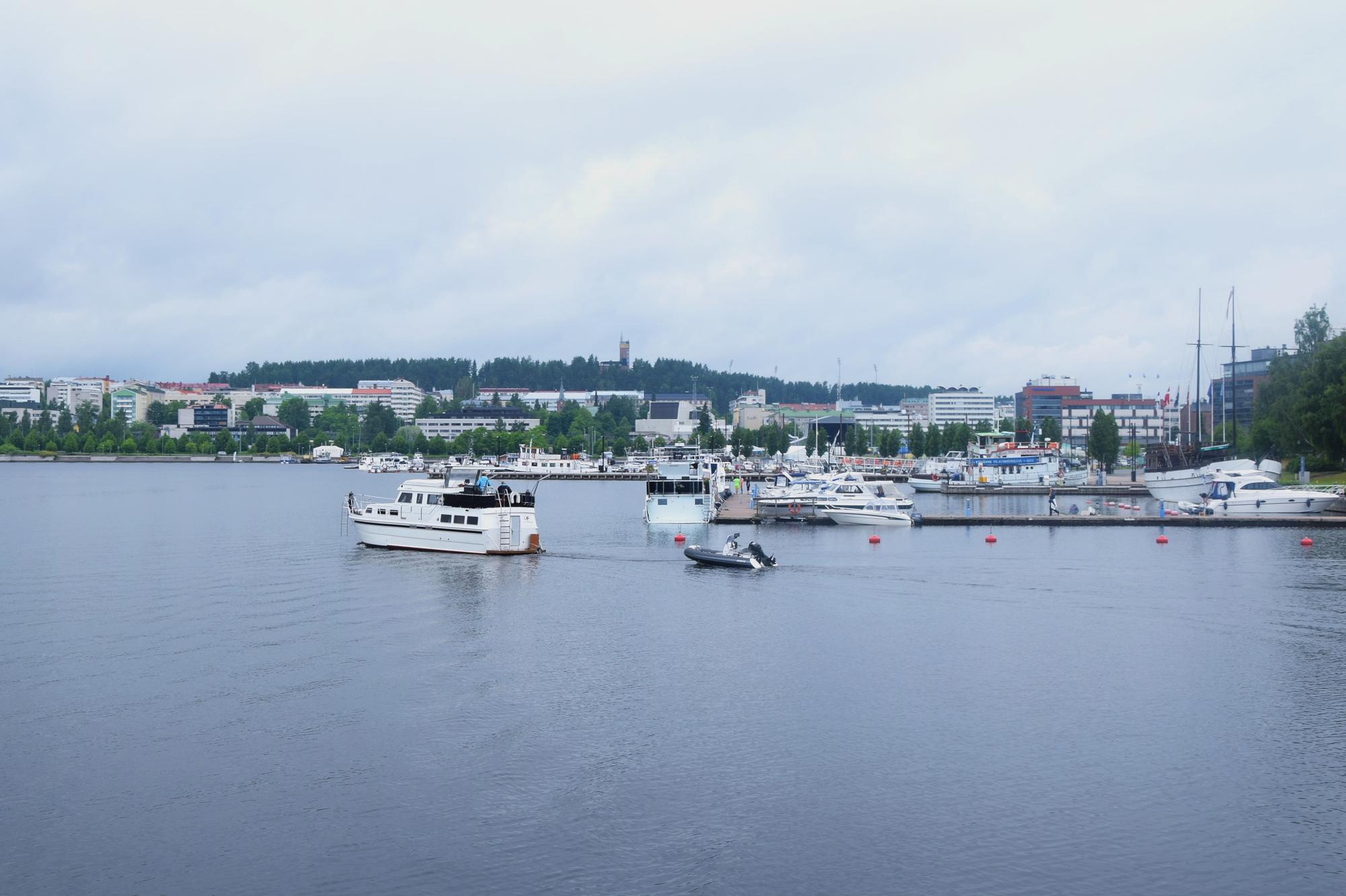 Ilmaista tekemistä Jyväskylässä on esimerkiksi kierros Jyväsjärven ympäri