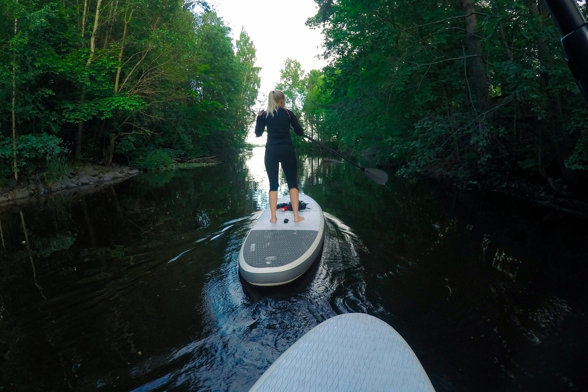 Aktiviteetit Jyväskylässä: SUP-lautailu