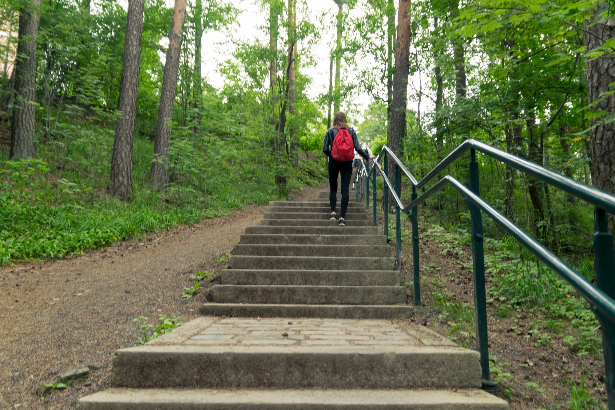 Tampereen nähtävyydet: Pyynikin näkötornin portaat