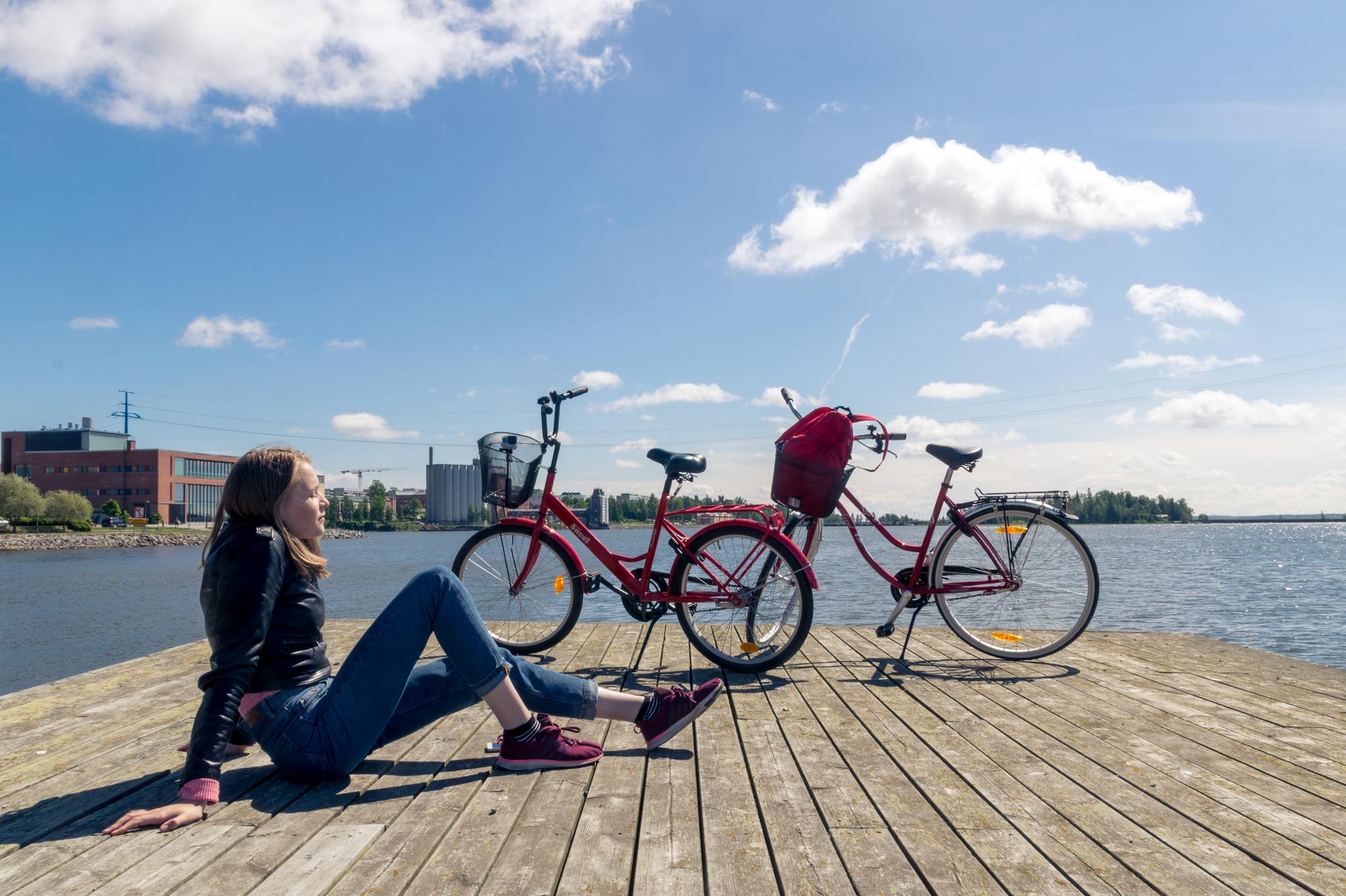 Tutustu Vaasaan vuokrapyörällä