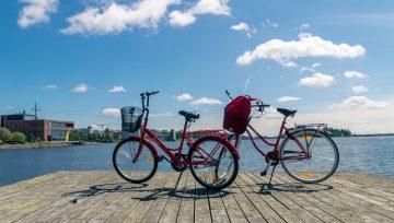 Vaasa lasten kanssa: vuokraa polkupyörät koko perheelle