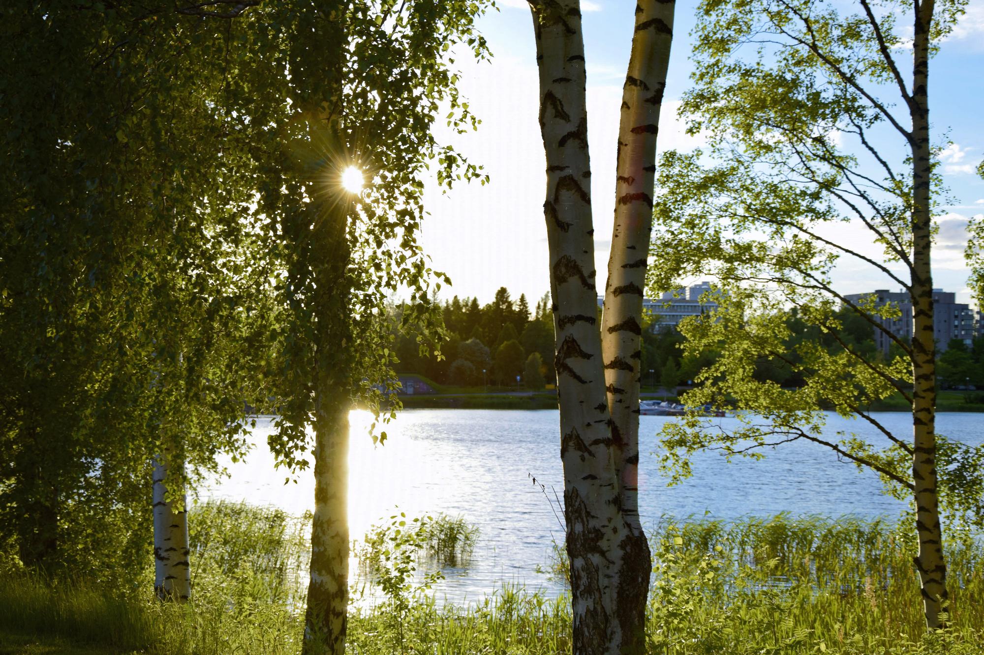 Työmatkalla Vaasassa ei tarvitse vain istua toimistossa.