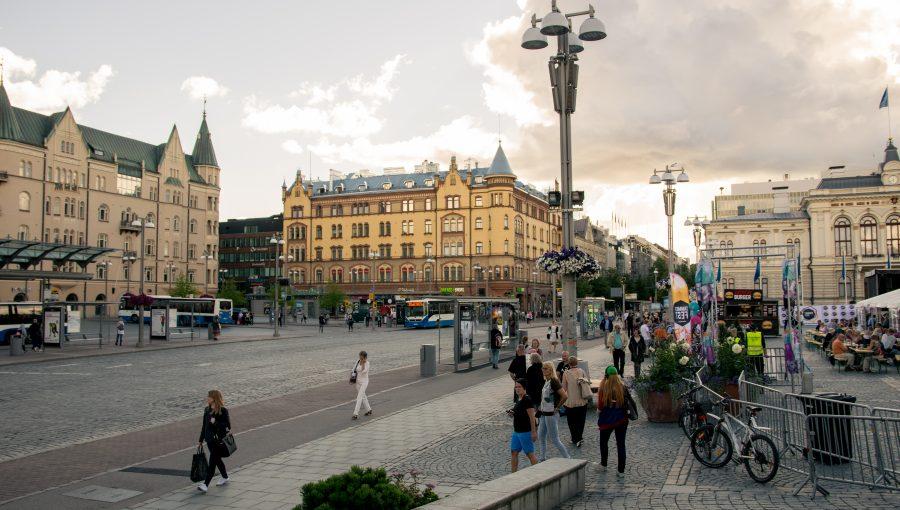 Kaupunkinäkymää Tampereelta