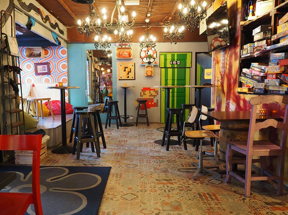 Ravintola Kumman värikäs ja persoonallinen sisustus