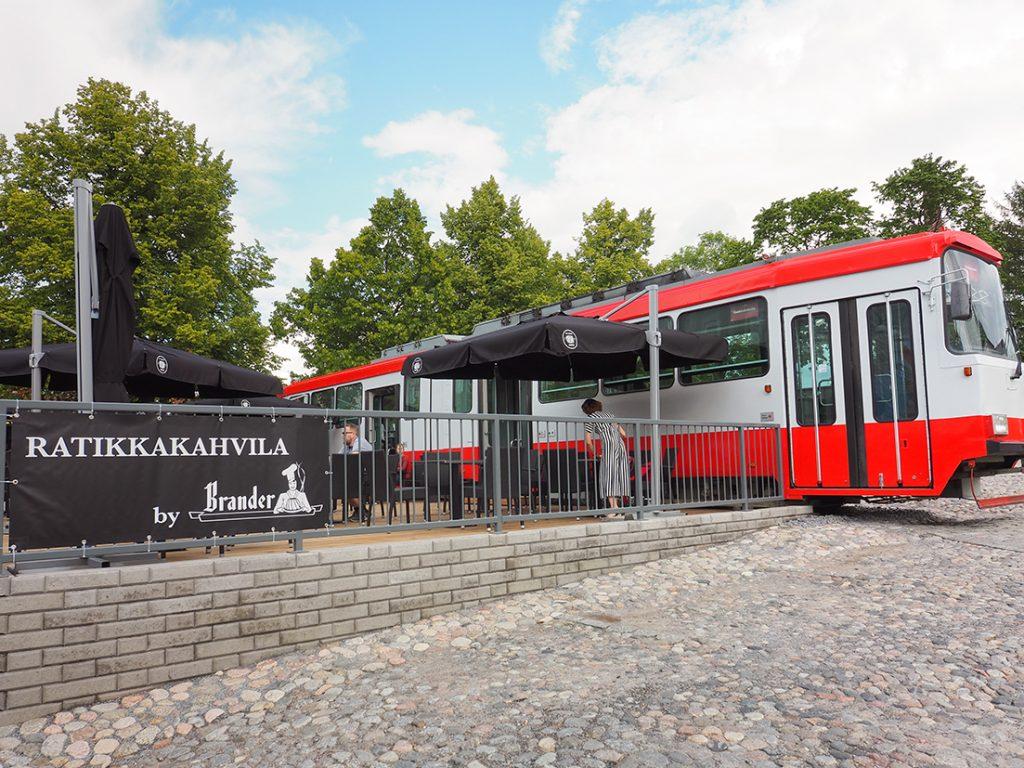 Tamperelainen ratikkakahvila